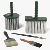 3dsmax painting brushes