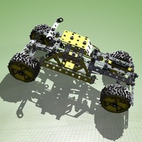 3ds max meccano buggy complete kit