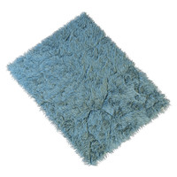 carpet long pile 3d model