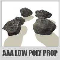 3d stones aaa ready -
