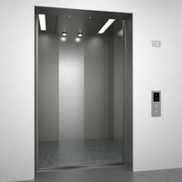 3d model elevator sjeq n02