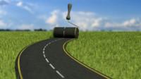 road roller blend