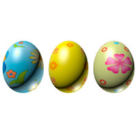 maya eggs set easter