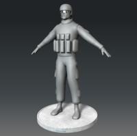marine corps soldier obj