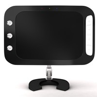 3d model lcd monitor