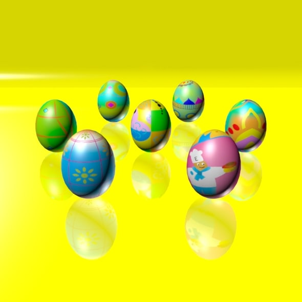 Easter Eggs Set 04