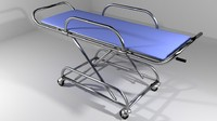 lightwave hospital furniture stretcher