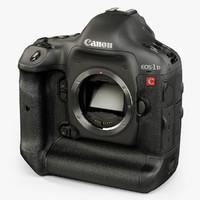 3d model canon eos-1d c 4k