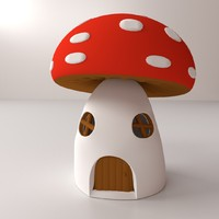 mushroom house 3ds