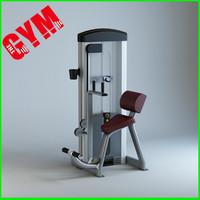 max abdominal gym