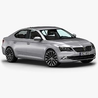 2016 skoda superb 3d 3ds