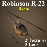 robinson basic 3d model