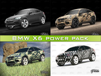 3d model bmw x6 power pack