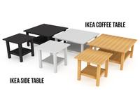 3dsmax ikea hemnes table colors