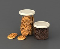 cookie coffee 3d max