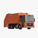 garbage truck 3D models