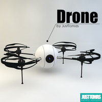 3d drone justtomas
