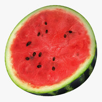 Watermelon Cross Section 2