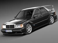 Mercedes-Benz 190E W201 Evolution II 1990
