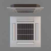 3d model air conditioner ceiling