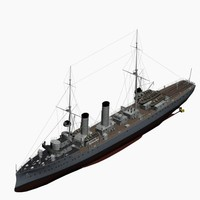 Mine Cruiser Albatross Imperial German Navy