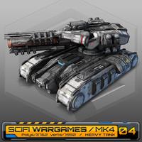 scifi heavy tank mk4 max