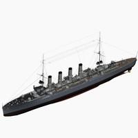 karlsruhe 1914 class cruiser max