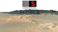 desert area scan 16k 3d max