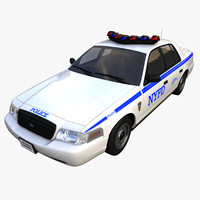 3ds max nypd police car