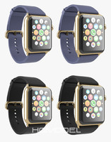 3d apple watch edition gold model