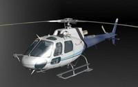 maya hellicopter 3dmodel