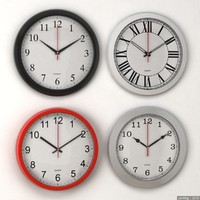 3d ma clock set