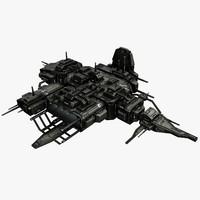 battle station 3d model
