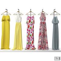 3d woman hanger model