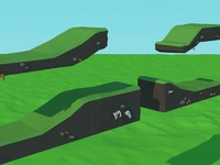 Low Poly Platforms Package