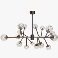 3d dallas chandelier model