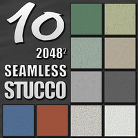 10 Seamless Tileable Stucco & Paint Textures