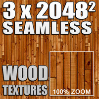 3 wooden floorboard textures