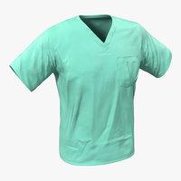3d model surgeon dress 20
