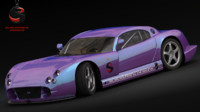 free obj model tvr cerbera speed 12