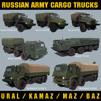 lightwave military cargo trucks