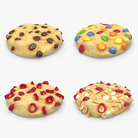 cookie set 3d model