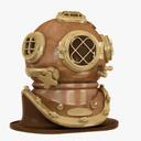 Diving Helmet 3D models