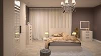 max bedroom design scene