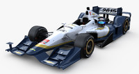 indycar chevrolet aero kit 3d model