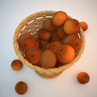 3d max fruit basket