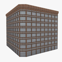 3d model american building