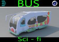 3ds bus sci fi