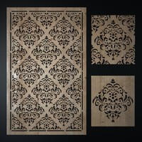 decorative laser cutting pattern max