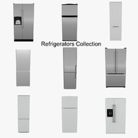 3ds max refrigerators
